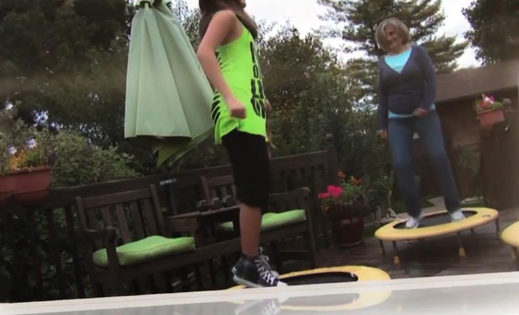 rebounding for aerobics